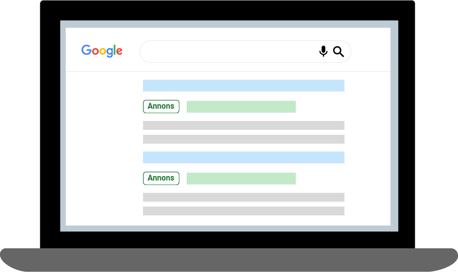 Annonsering Google